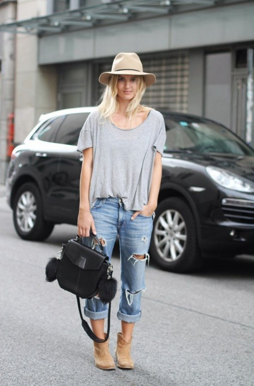 outfits con jeans holgados jeans de novios