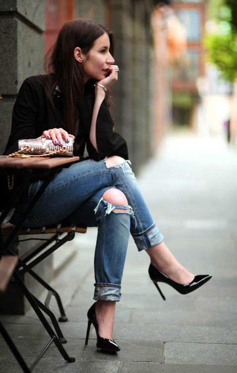Pantalones vaqueros: El jean está de moda!!