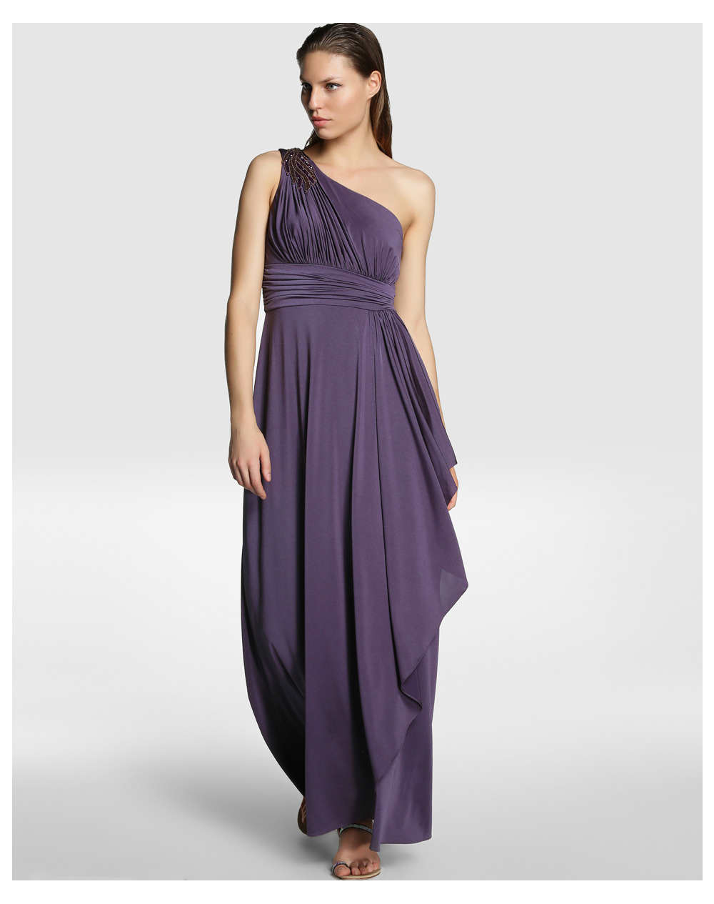Hermosos vestidos largos para fiestas de noche 2014