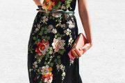 Vestidos largos primaverales que están de super moda!!