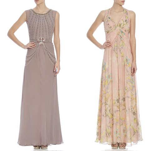 Modernos y elegantes vestidos largos 2014