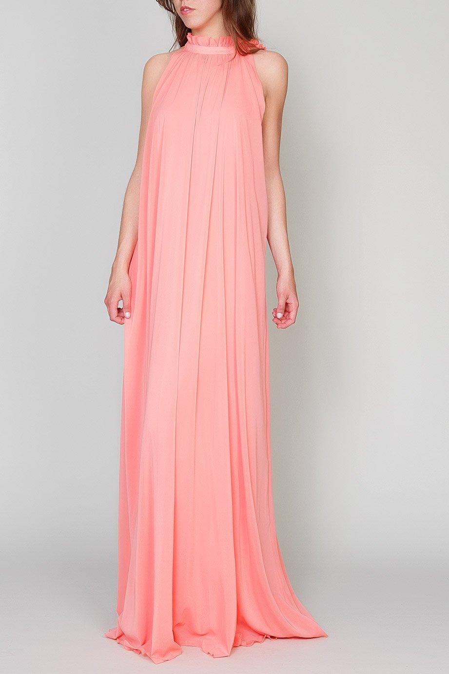 Estupendos vestidos largos muy sueltos para fiestas | AquiModa.com