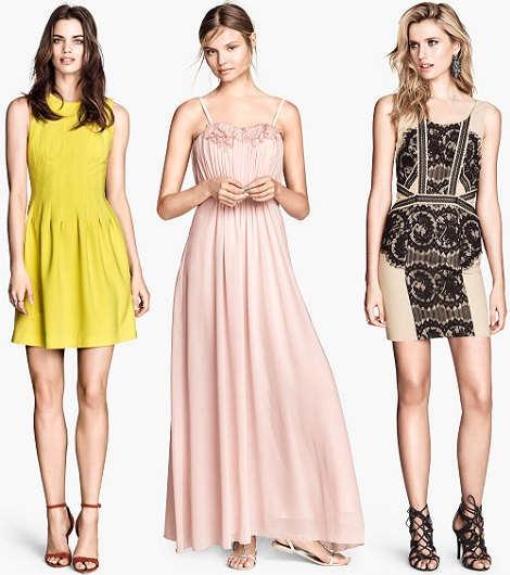 Moda primavera 2014, elegantes vestidos veraniegos