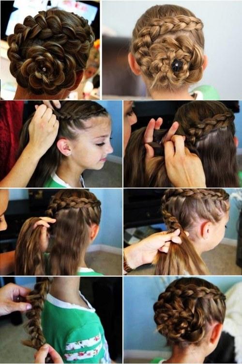 Tutoriales paso a paso de Peinados lindos para tus hijas