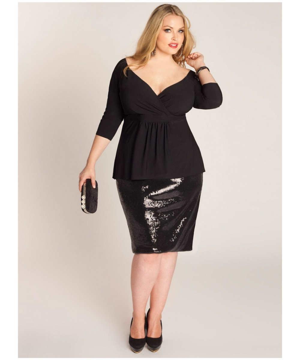 Elegantes y sofisticados vestidos de noche para gorditas