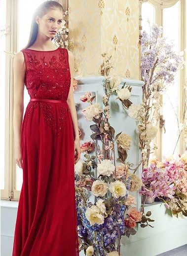 Seductores vestidos rojos de fiesta