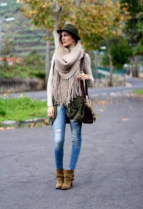 maneras de usar sombreros fedora otoño moda 2014