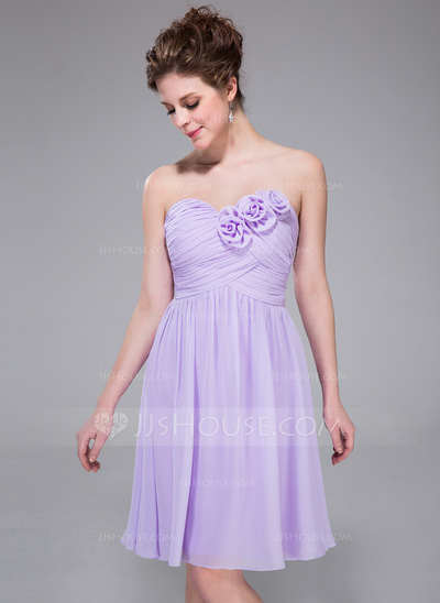 Fenomenales vestidos cortos para damas de honor