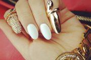 Nuevos 10 Hermosos diseños para uñas puntiagudas