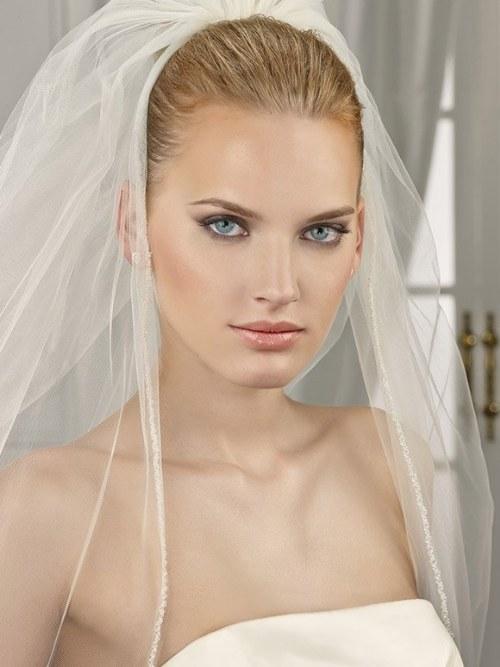 velos modernos para novias