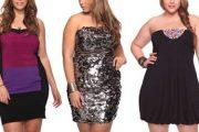 Vestidos elegantes y modernos de tallas grandes