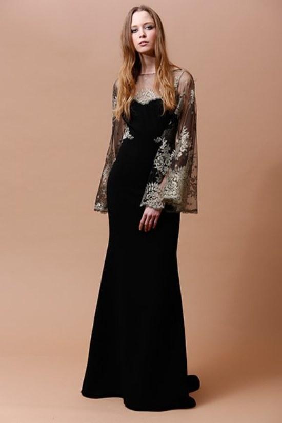 vestidos de noche badgley mischka 2014 otoño