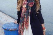 Más outfits para llevar con tu bufanda para el Otoño 2014