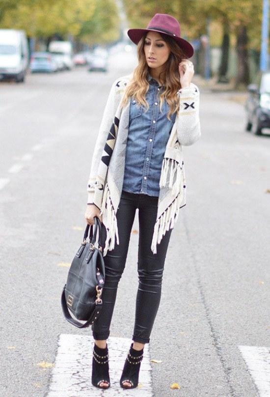 camisas moda pre otoño outfits combinaciones