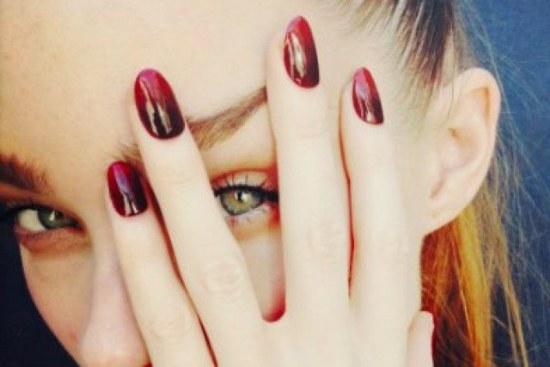 diseños uñas otoño colores opacos