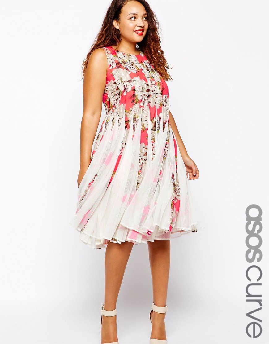 Vestidos de moda gorditas para diferentes ocasiones for Boda en jardin como vestir