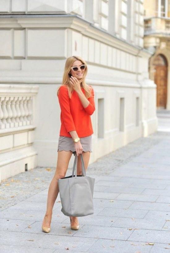 combinaciones faldas sueters jerseys otoño