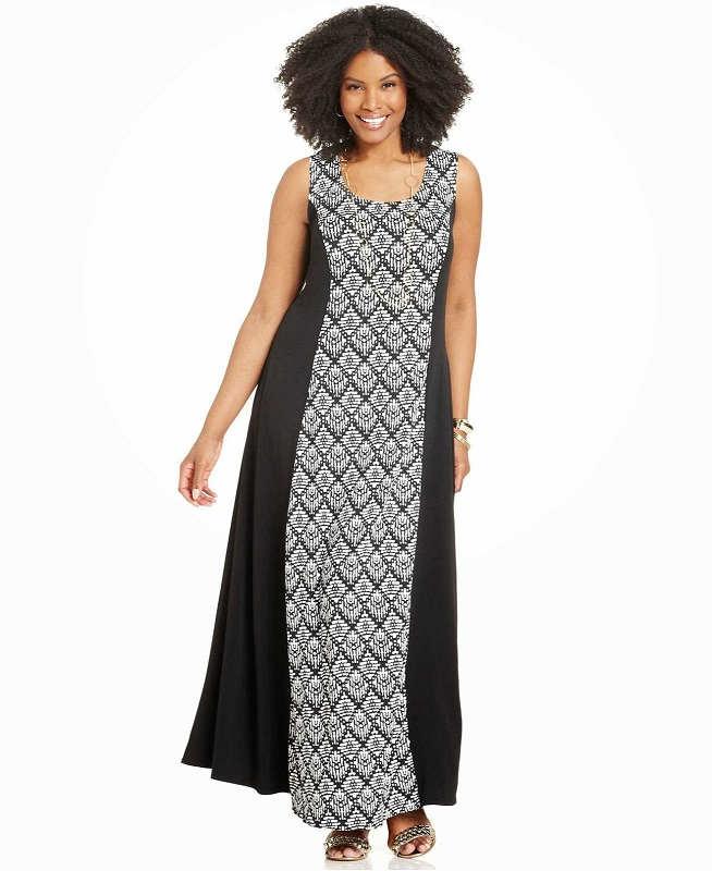 Vestidos largos casuales para chicas gorditas, exclusivos modelos 2014