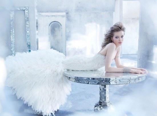 lazaro vestidos de novia otoño 2014 diseñador