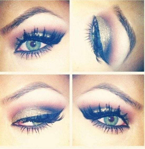 maquillaje para ojos verdes