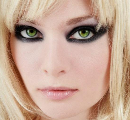 Dark Green Eye Contacts Mejores ideas de maqui...