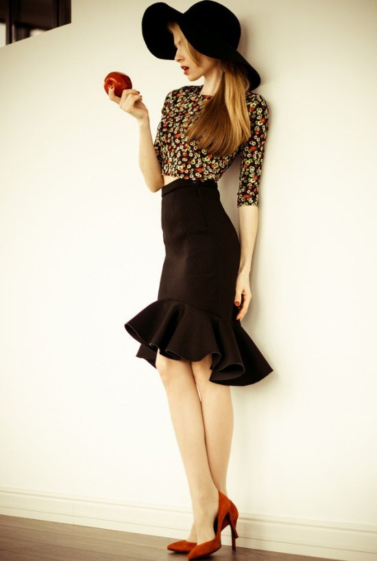 outfits vintage moda retro para mujeres