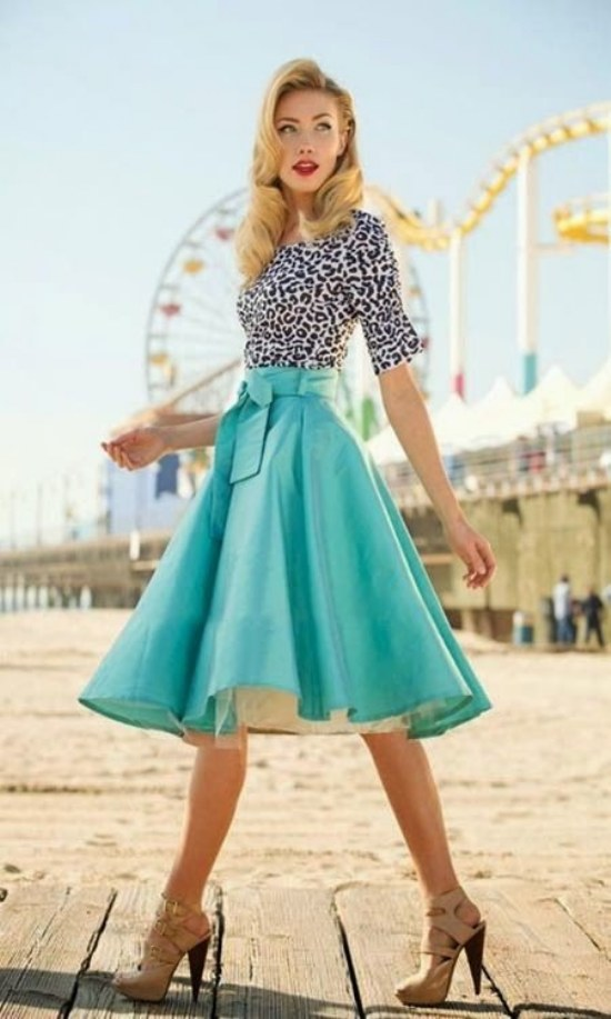 stunning retro outfit inspiration