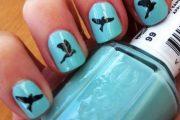 10 Encantadores diseños para Uñas con temas de pájaros de Otoño!