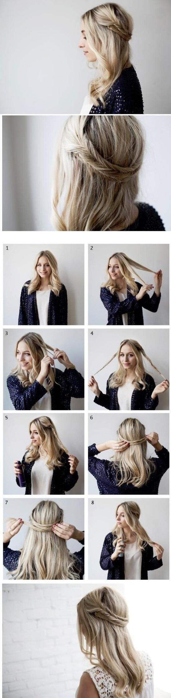 Los peinados más fáciles para usar para ir a la Oficina o trabajo