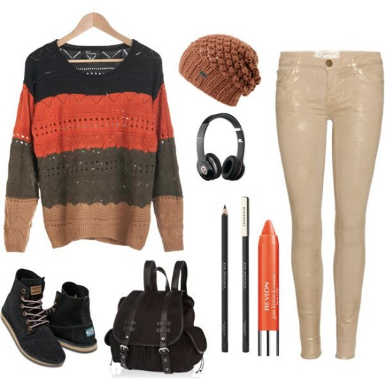 polyvore moda outfits otoño