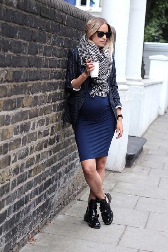 11 Outfits perfectos para usar para el Otoño para Embarazadas