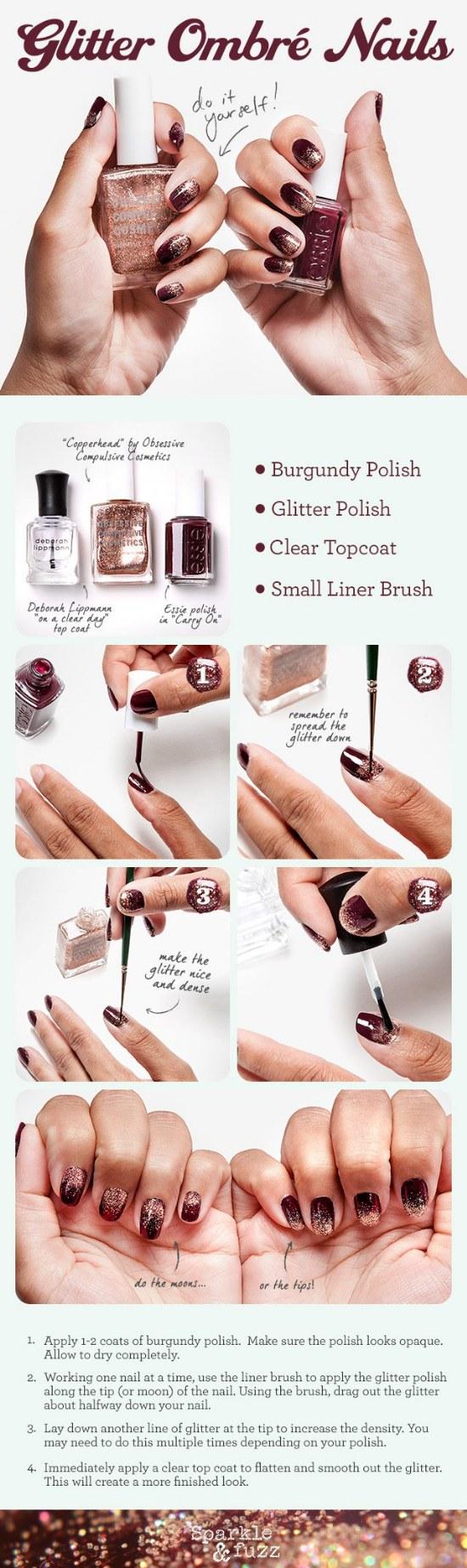 tutoriales paso a paso diseños para uñas