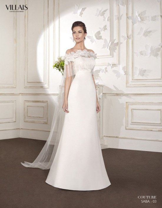 romántica colección de vestidos de novias por villais 2015
