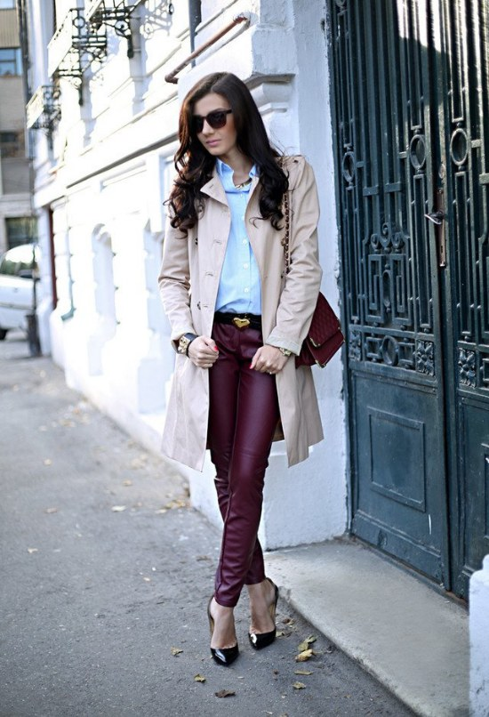 tendencias colores para outfits otoño 2014