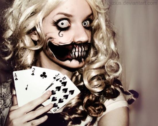 maquillaje halloween creepy ideas