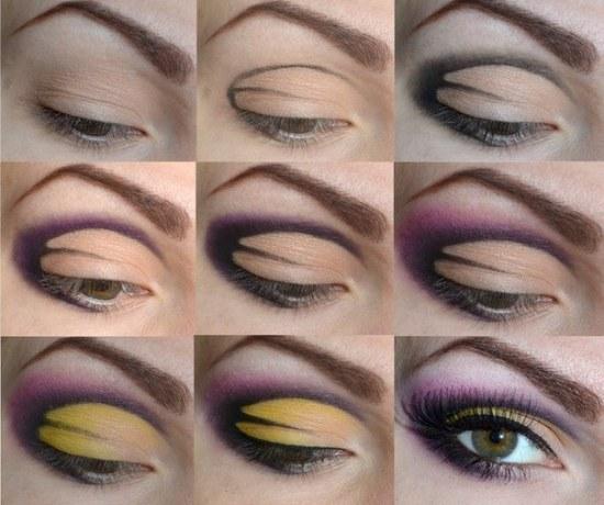 Tutoriales de hermosos Maquillaje para Ojos paso por paso