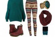 Mejores combinaciones de Outfits con Leggings para este Invierno 2014