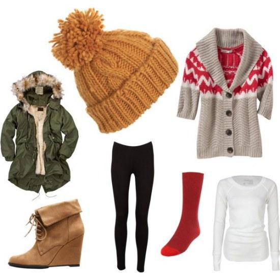 outfits leggings combinaciones invierno moda