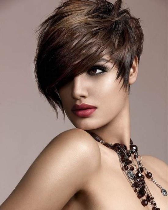 peinados cortes cabello corto moda