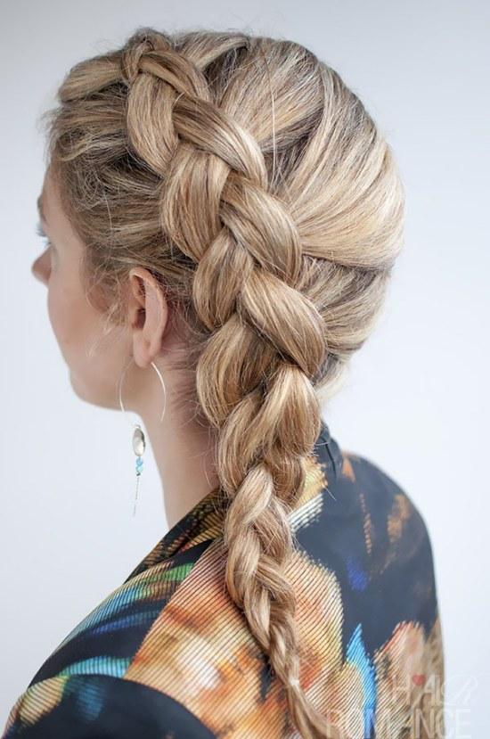 peinados de lado lindos