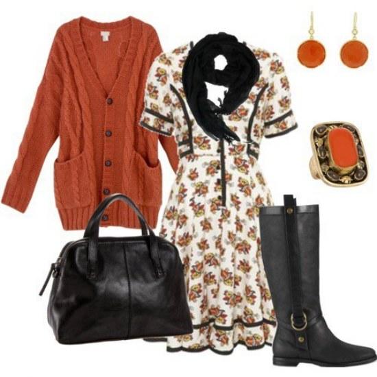 polyvore outfits moda otoño 2014