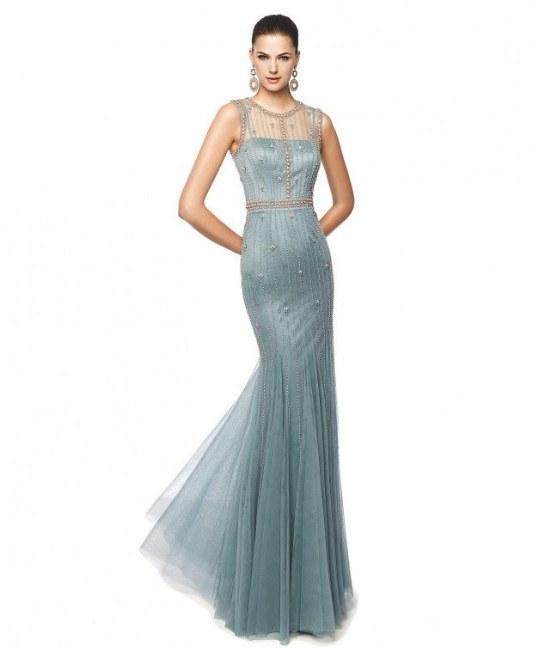 pronovias vestidos coctel elegantes
