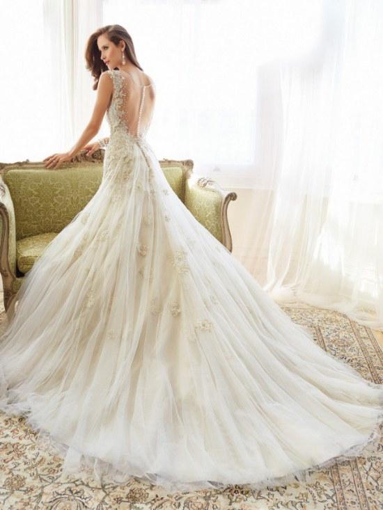 sophia tolli vestidos de novia primavera 2015