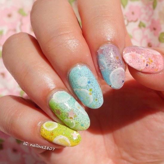 uñas ovaladas almendras diseños manicure