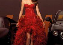 vestidos rojos para novias bodas