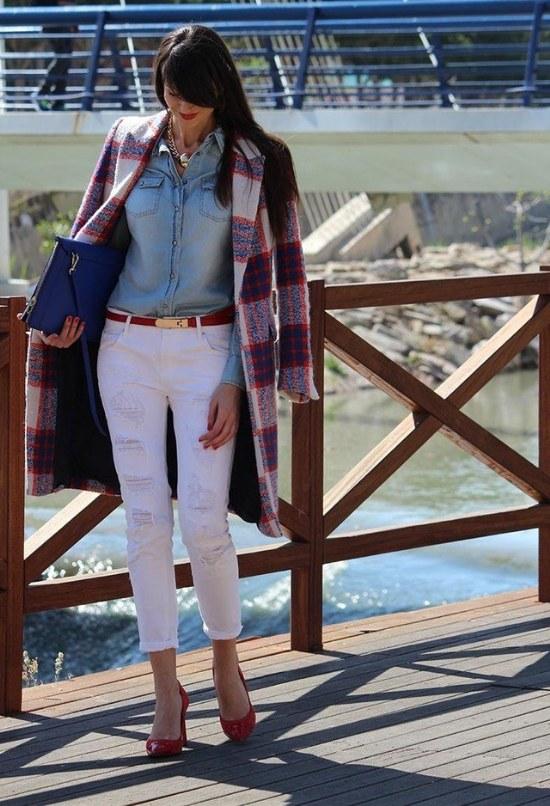 abrigos tartan invierno moda 2014