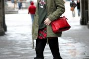 Looks y Outfits con Chaquetas Parka para los días de Invierno 2014/15