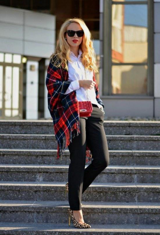 outfits ideas para ir a la oficina invierno