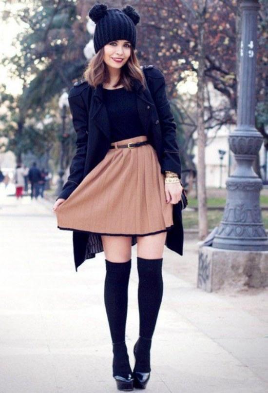 Outfits casuales cálidos para chicas para este Invierno ...