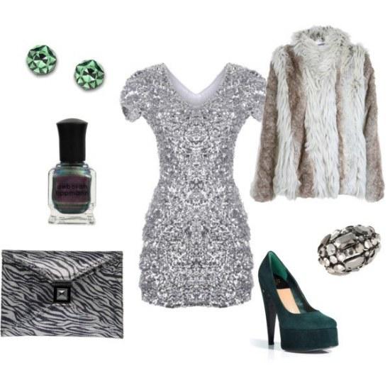 polyvore outfits navidades combinaciones vestidos